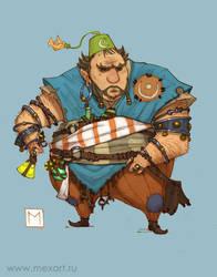 Fat Alchemist by Sidxartxa