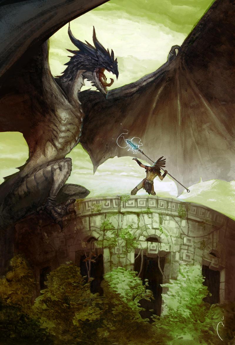 Last Dragon by Sidxartxa