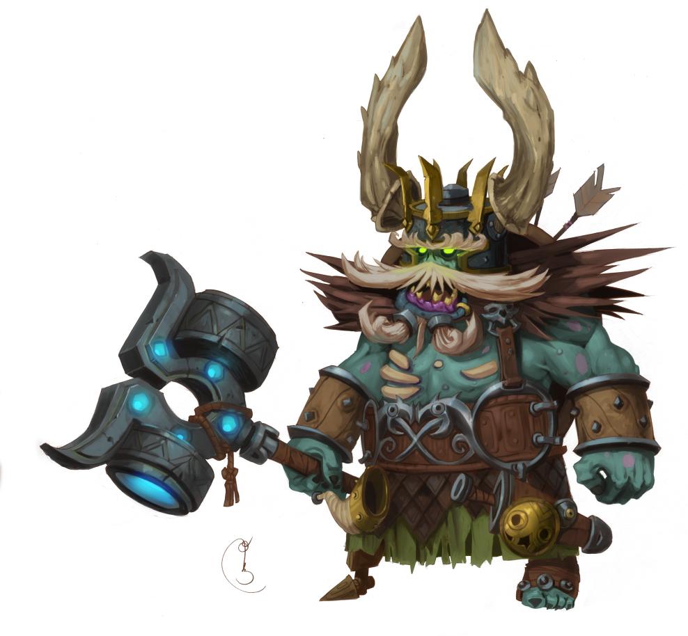 Dead dwarf king
