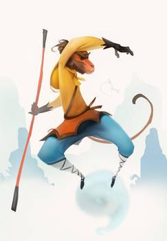 Monkey King (speedpainting)