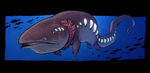 Deep-Sea Whalamander by Timooon