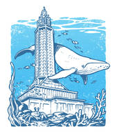Le Havre City under the Sea