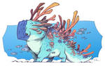Coral Parrot Creature