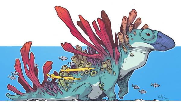 Coral Parrot Creature 3