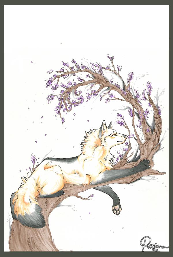 Farsynja's spring by Poriina