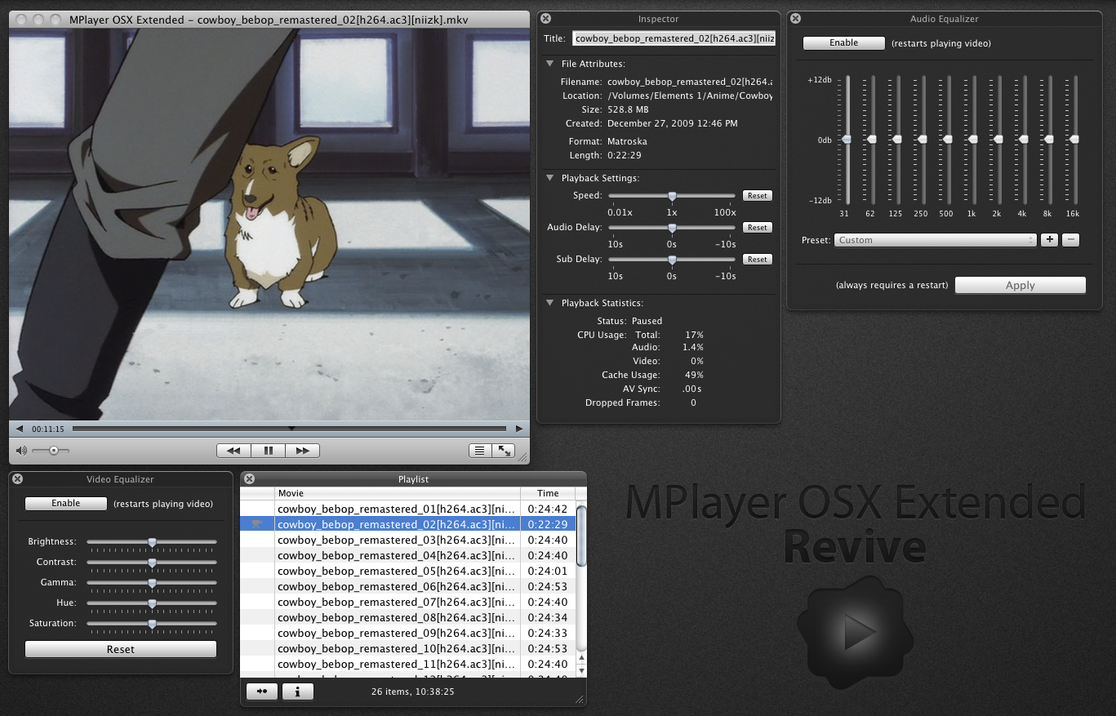 MPlayer OSX Extended - Revive by kyonkundenwa