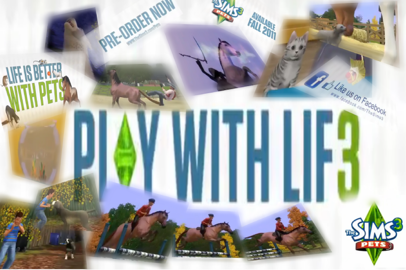 The Sims 3 Pets Wallpaper by Xx-Cookie-Lover-xX