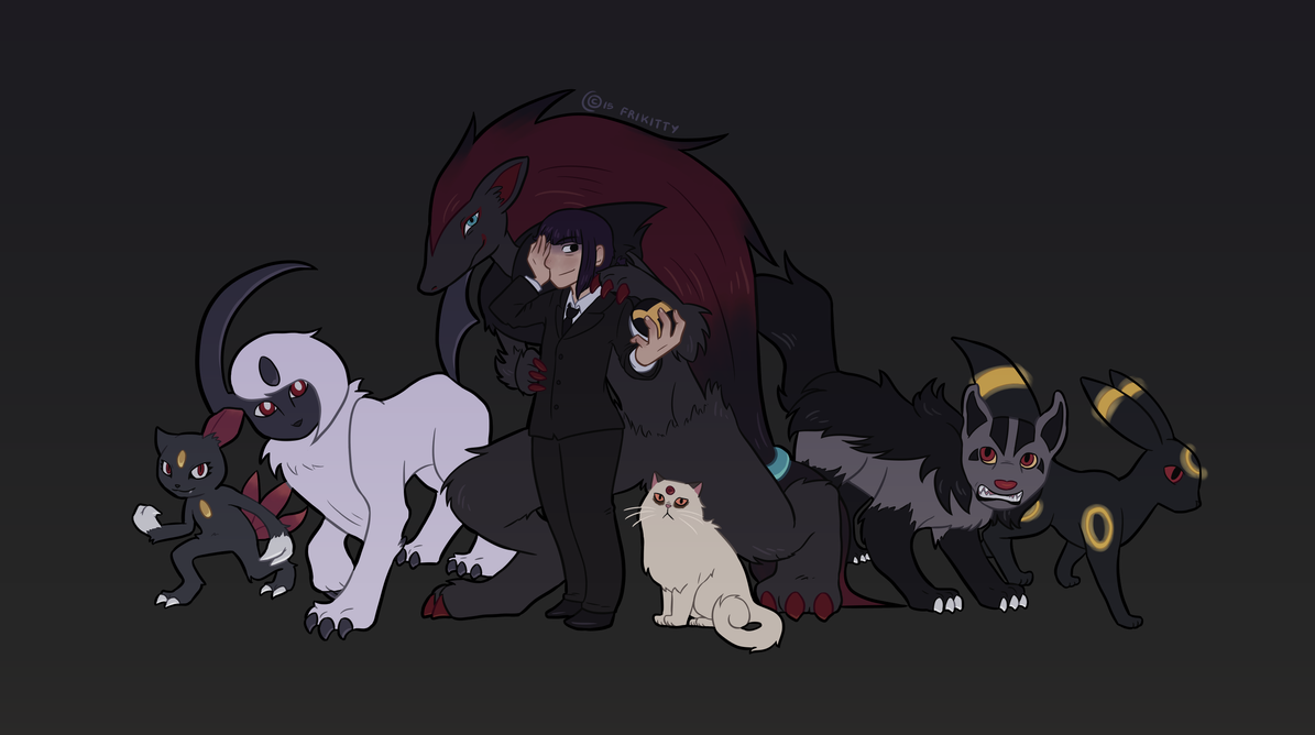 Gym leader by FriKitty