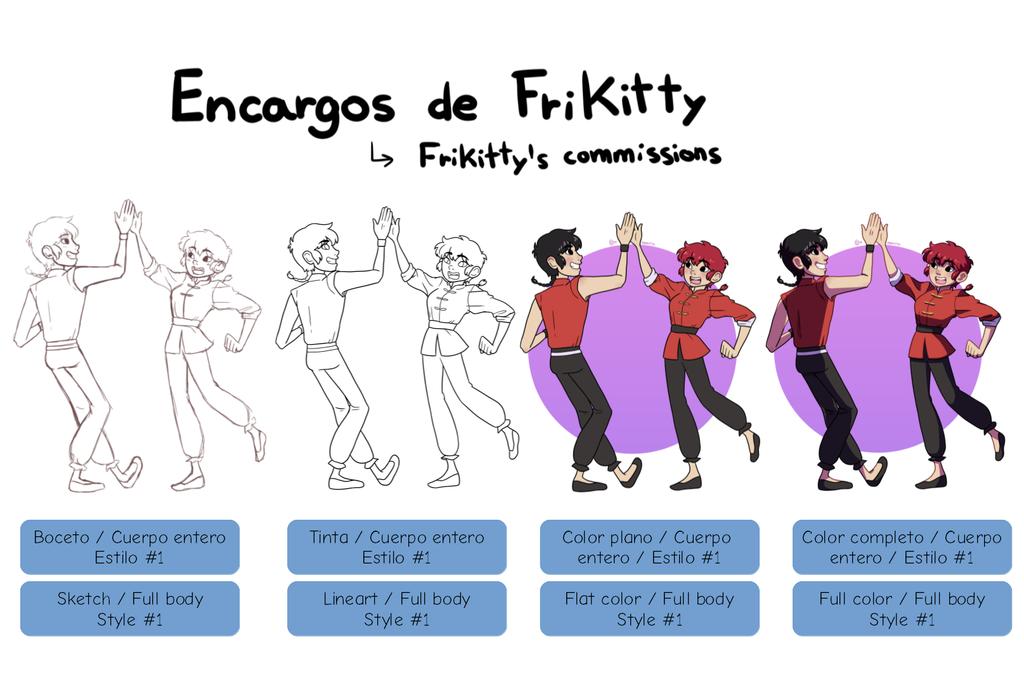 Encargos1 by FriKitty