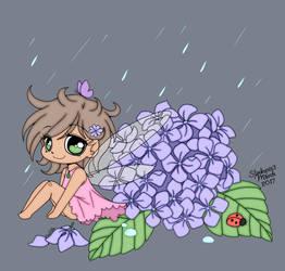 Hydrangea Fairy by slinkysis3