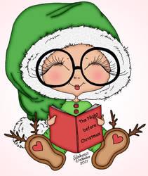 Christmas Reading by slinkysis3