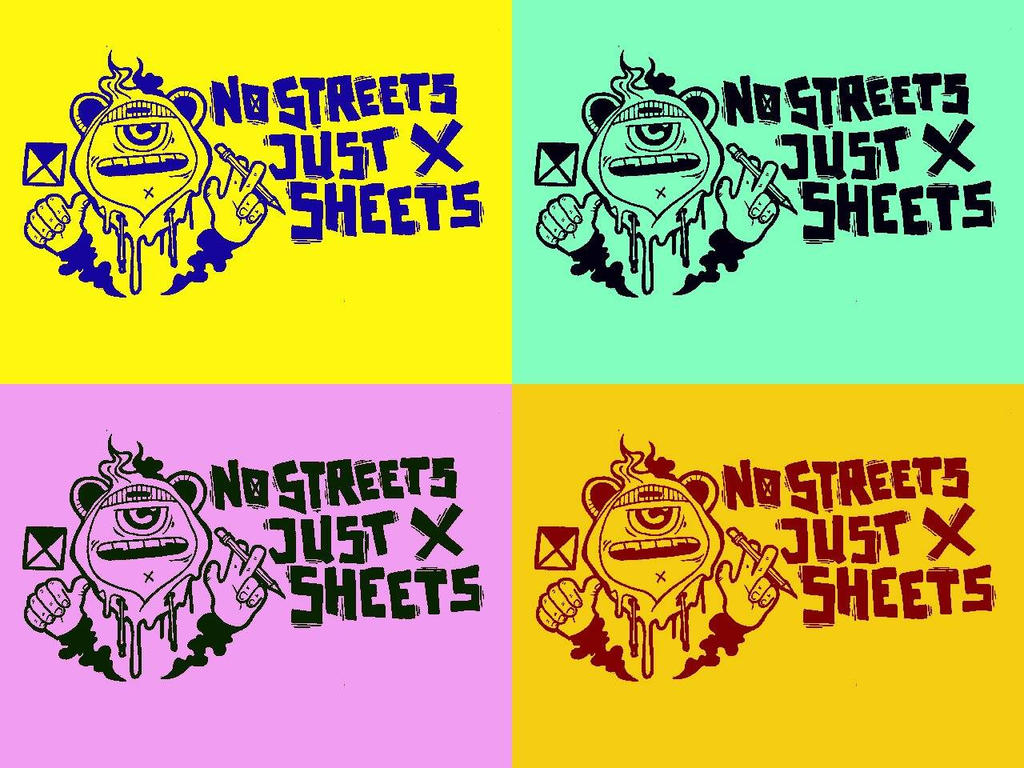 NO STREETS JUST SHEETS by etanist