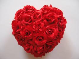 Roses heart stock by Lift-manipulator