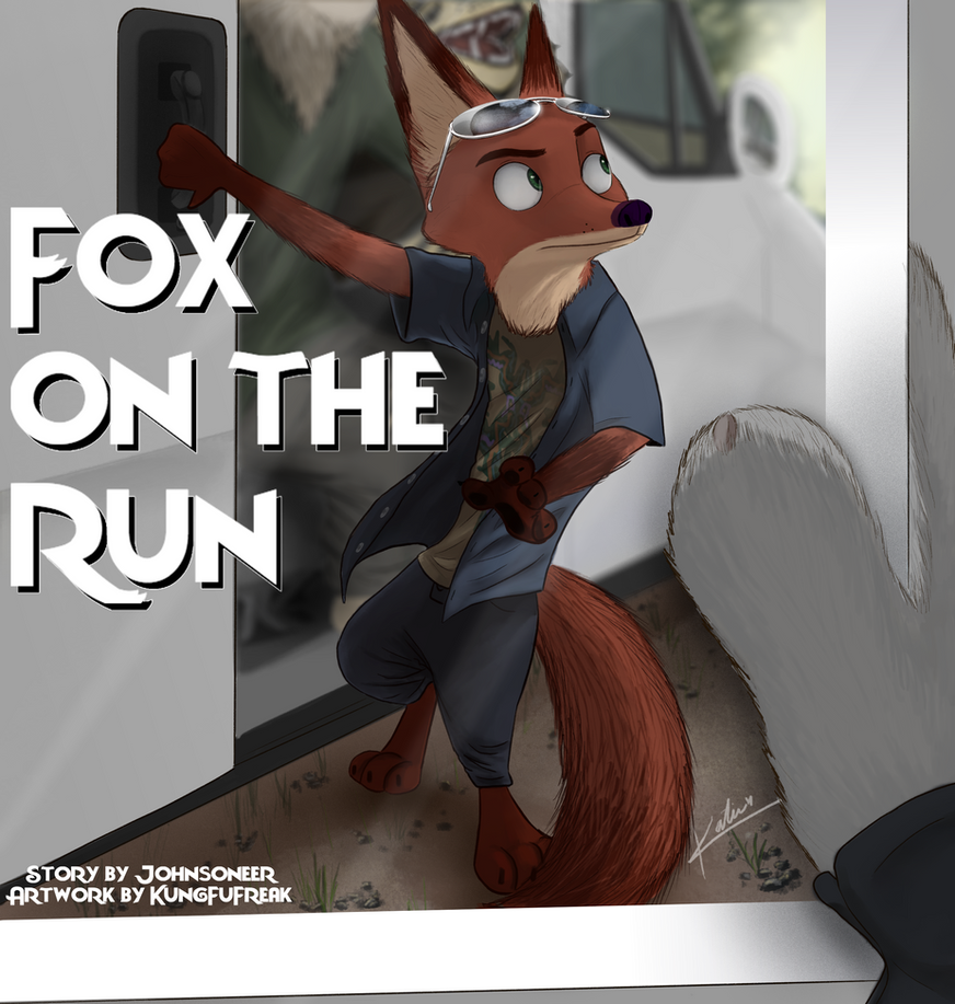 Fox on the Run Story Cover by Johnsoneer