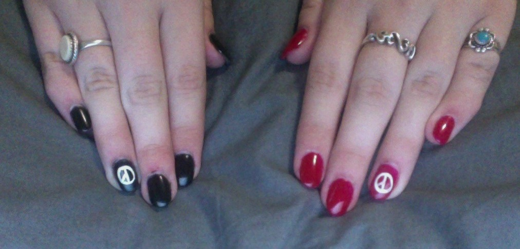 My Nails With Coup D\'etat design/initials by Kpopgirl4ever on DeviantArt