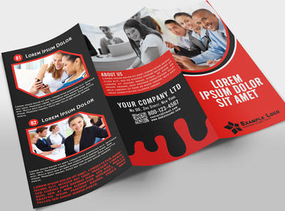 12Tri-Fold Corporate Business Brochure by pmvchamara