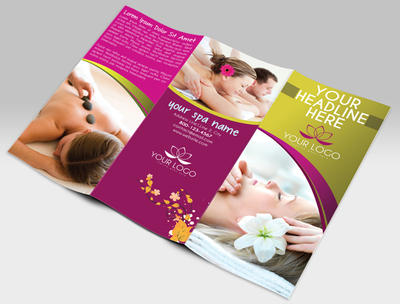 Spa Center TriFold Brochure by pmvchamara