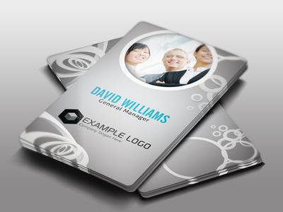 Corporate Business Card by pmvchamara