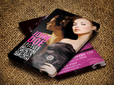Fashion Business Card by pmvchamara