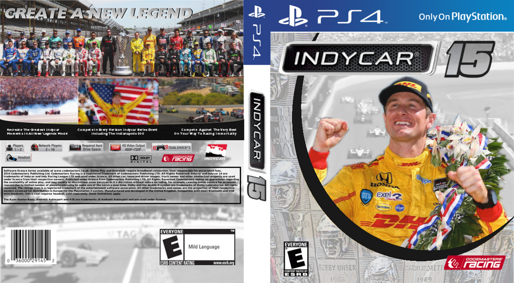 Indycar 2015 Game Cover