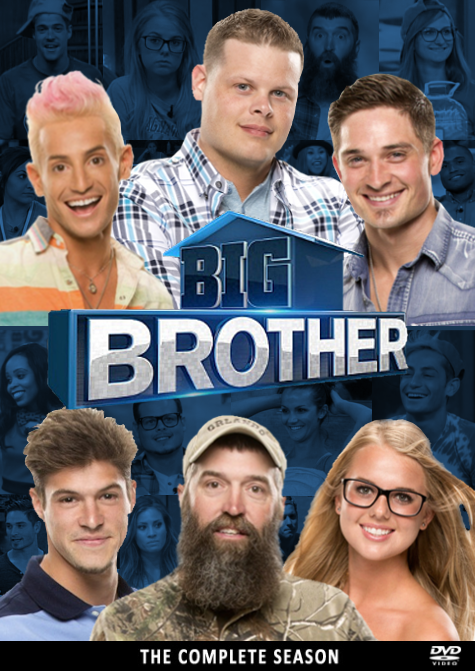 Big Brother USA 16 DVD Cover by karl100589