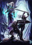 March of Drow by Blensig