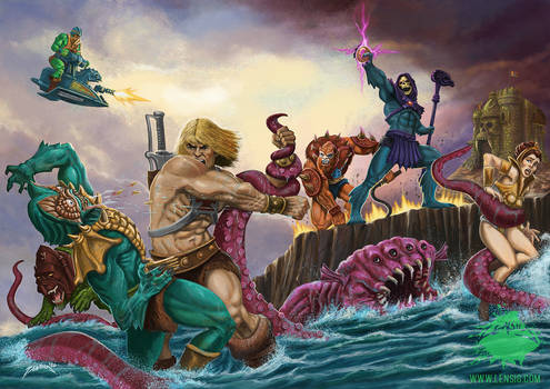 Masters of the Universe - Skeletors revenge FanArt