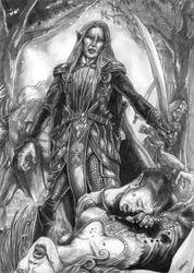 frighten the evil by Blensig