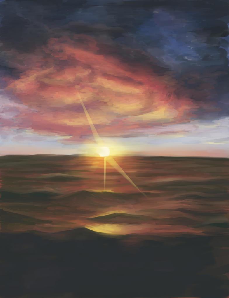 Im learning how to draw sky by katsurasu