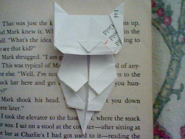 Origami Cat Bookmark Jo Nakashima By Iamboredalready