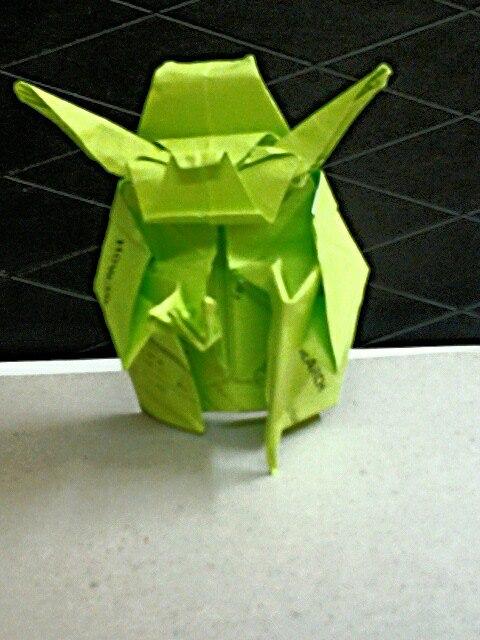 Origami Jedi Master Yoda (Fumiaki Kawahata) by ... - photo#27