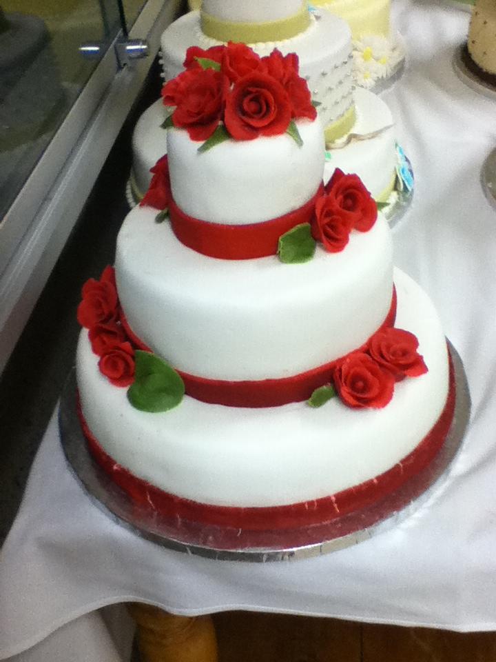 Wedding cake by anime-rai-chan