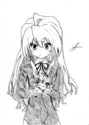 Taiga Aisaka - Toradora! by Enzrock