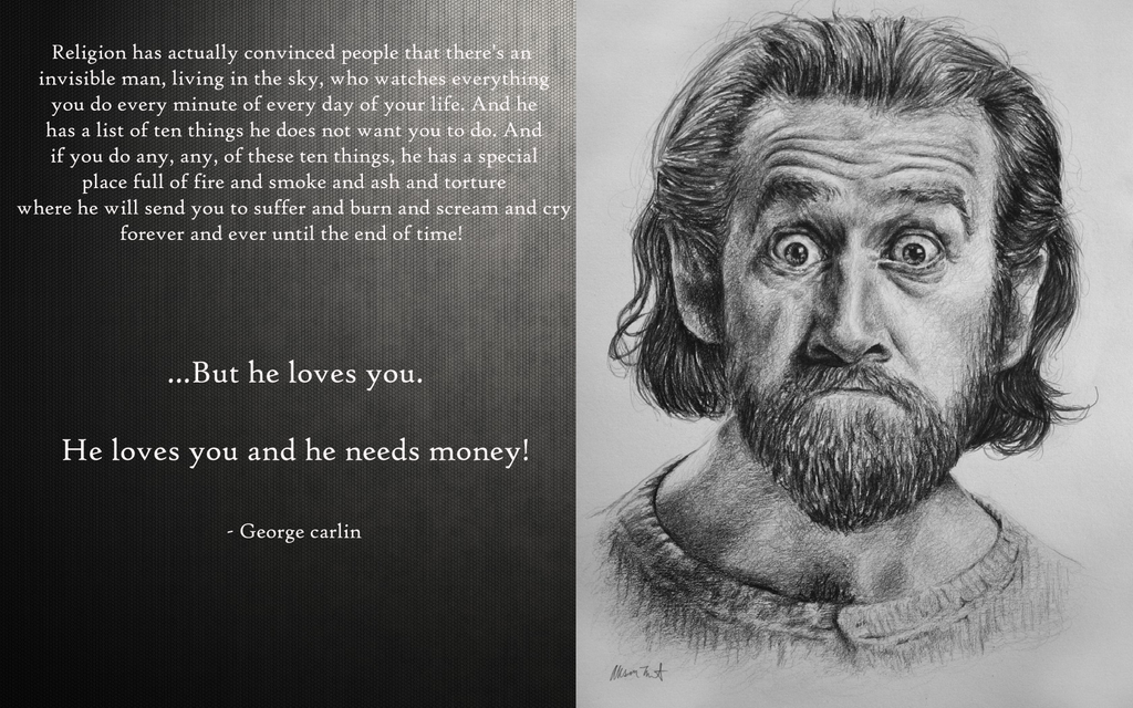 george carlin political quotes