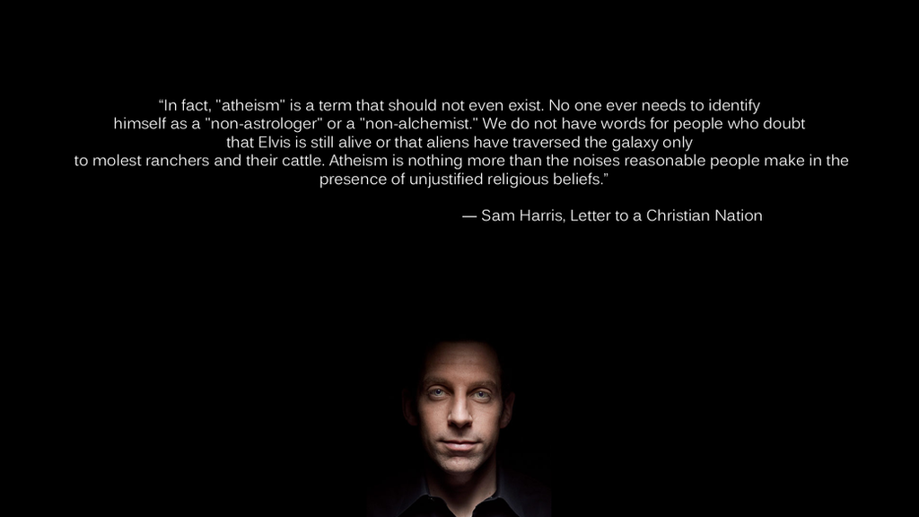 sam harris, Letter to a christian nation by macerai on DeviantArt