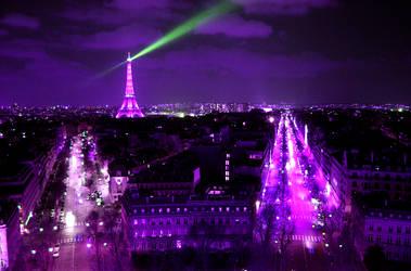 Purple Paris by fotografE
