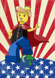 Lego Donald Trump by KawaiiKayley