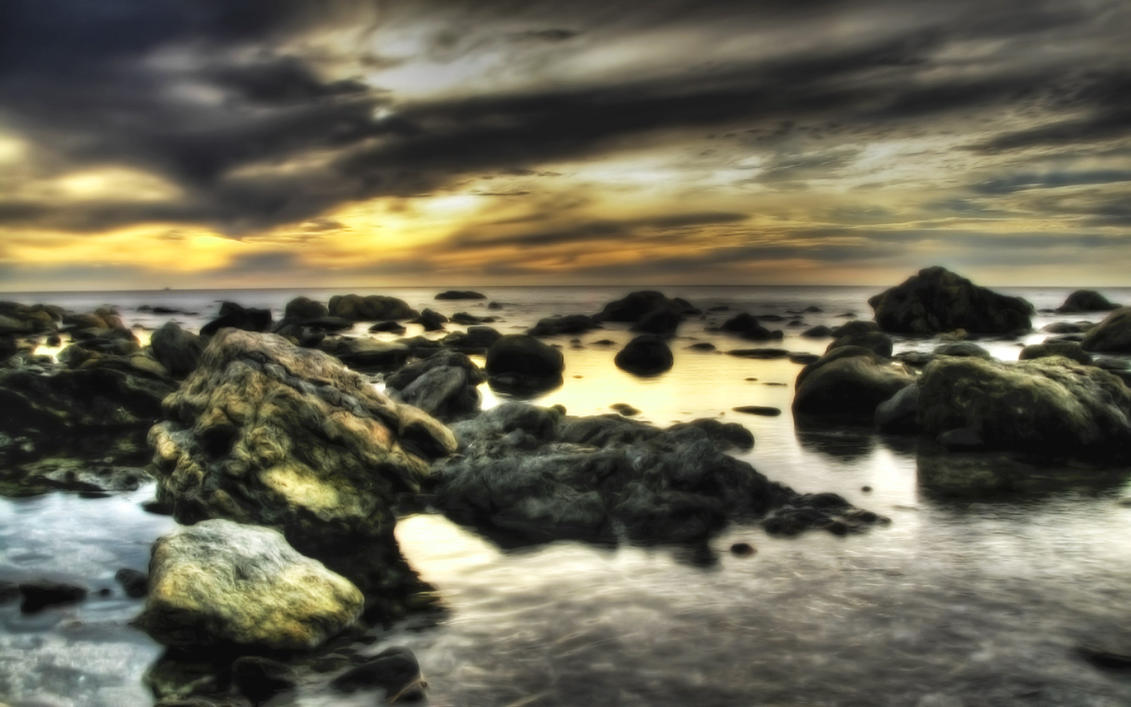 Rocky Shore by ryanstfu