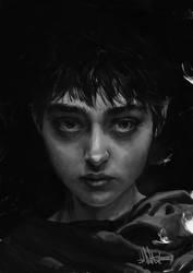 The Branded Girl by kopfstoff