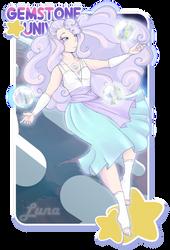 Gem Universe - Luna by DiceKitty