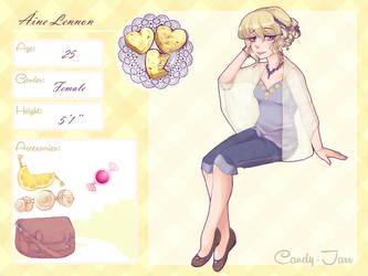 Candy Jarr - Aine Lennon by DiceKitty