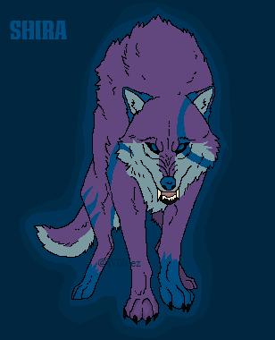 Azurehowl Shading Challenge - Shira by W0lvez