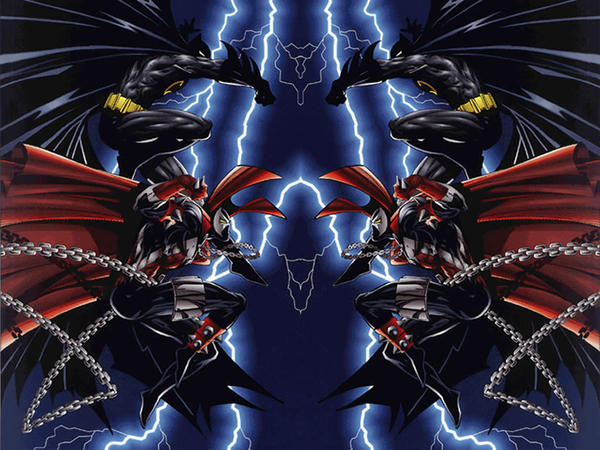 Batman vs Spawn by dalbo1201