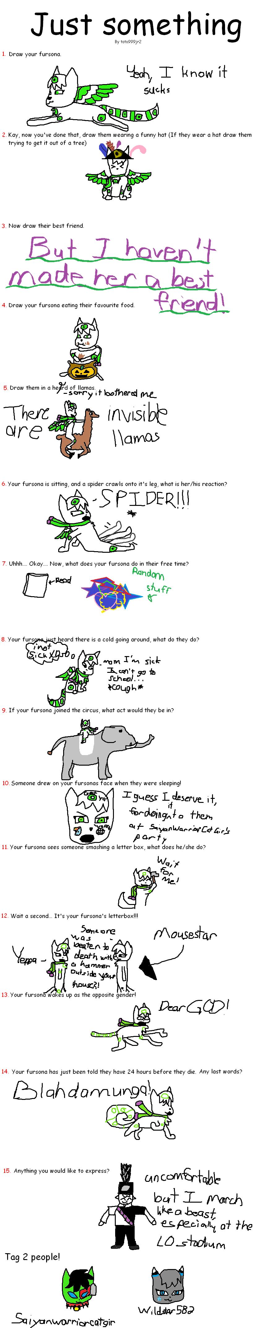 Fursona Quiz meme by silverstartribble on DeviantArt