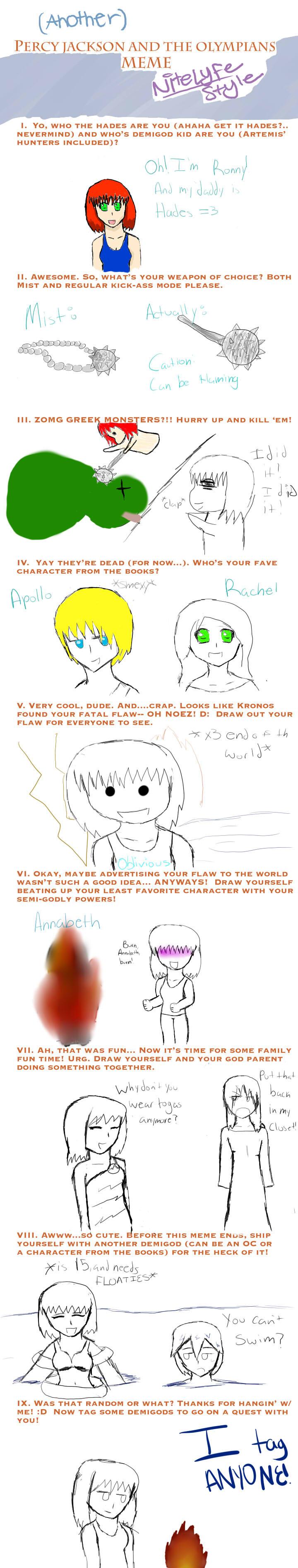 Percy Jackson Meme by Ashanime777 on DeviantArt