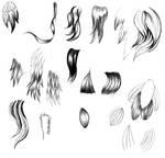 Hair/fur part 3