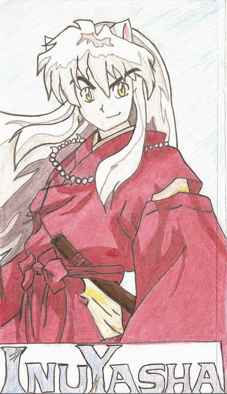 Proud Inuyasha by Versa6032