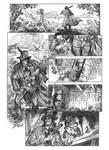 Solomon Kane pg 1 pencils