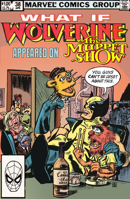 Wolverine VS Muppets by deankotz