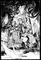 Aliens VS Blade Runner by deankotz